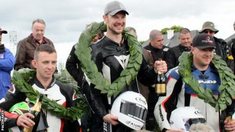 Alan Bonner performed well at the recent Isle of Man TT Races