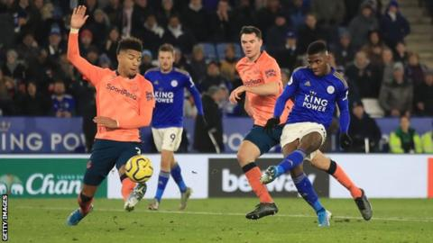 Kelechi Iheanacho scores for Leicester