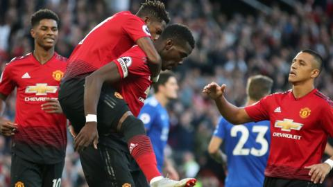 Pogba scores for Man United