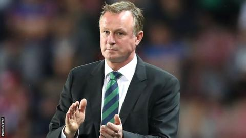 NI manager Michael O'Neill