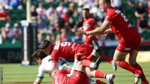 Wales v Ireland at the 2017 Rugby League World Cup