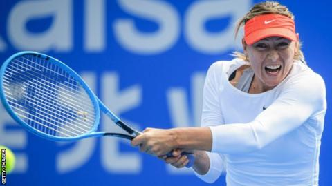 Shenzhen Open: Aryna Sabalenka reaches SF after Maria Sharapova's retirement from match