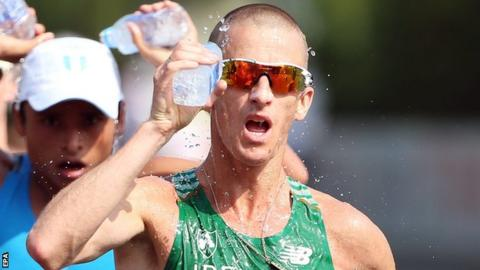 Robert Heffernan of Ireland