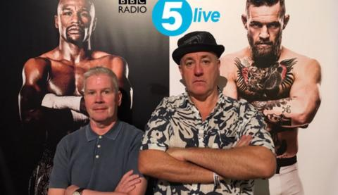 Costello (left) and Bunce have been at ringside for 5 live throughout 2017