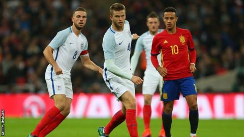 67eca4e6ff2 World Cup 2018  England to start with either Eric Dier or Jordan ...