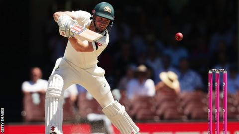 Shaun Marsh was second in Australia's batting averages in the 2017-18 Ashes series, hitting 445 runs at 74.17