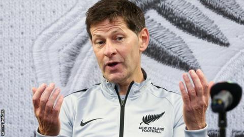 Former New Zealand women's coach Andreas Heraf