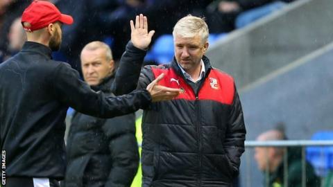 Former Leyton Orient and Swindon manager Martin Ling