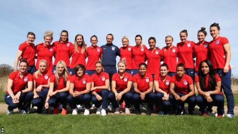 England women's Euro 2017 squad