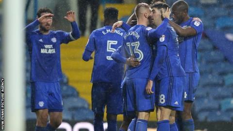 Cardiff celebration