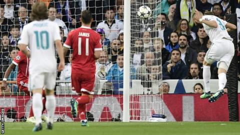 Real Madrid 2 2 Bayern Munich 4 3 On Aggregate Bbc Sport