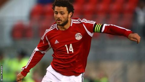 Egypt and Al Ahly's Hossam Ghaly