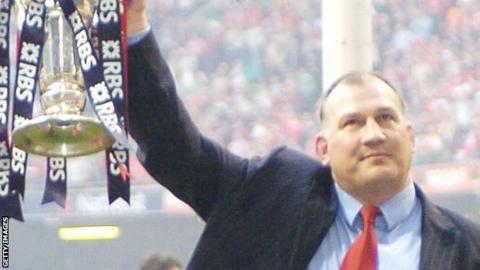 Former Wales coach Mike Ruddock