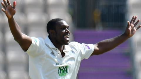Long-serving left-armer Keith Barker left Warwickshire for Hampshire at the end of last season