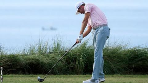Brendon Todd at the Bermuda Championship