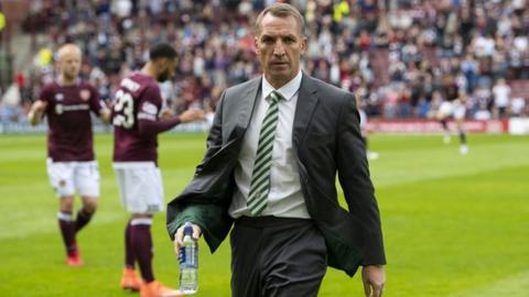c6a274ebe679 I love every day at Celtic  - Brendan Rodgers after losing to Hearts ...