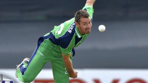 Max Sorensen helped Ireland to victory in the second T20 against Papua New Guinea