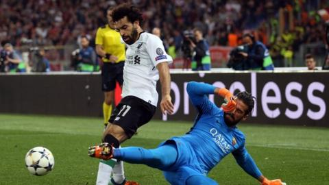 Liverpool make record bid for Roma keeper Alisson