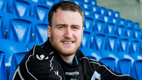 Glasgow Warriors full-back Stuart Hogg