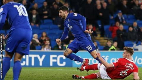 Callum Paterson of Cardiff City