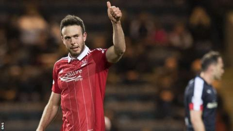 Andrew Considine scored his first professional hat-trick on Friday night