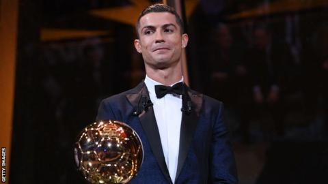 What is the Ballon du0027Or?  sc 1 st  BBC & Ballon du0027Or 2017: Cristiano Ronaldo beats Lionel Messi to win fifth ...
