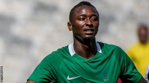 Nigeria's Sadiq Umar