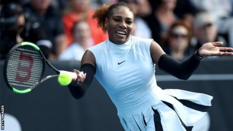 bd1ebd94adcdac Serena Williams suffers shock defeat by Madison Brengle in the ASB ...