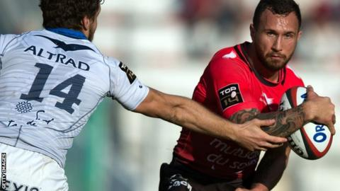 Quade Cooper of Toulon