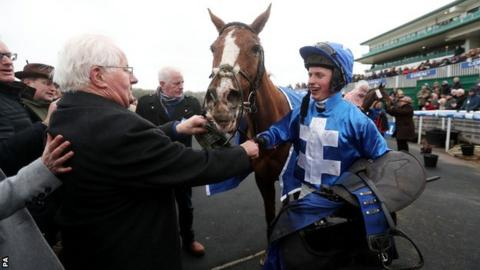 James Bowen, 16, is the youngest jockey to win the Welsh National while Raz De Maree is the oldest horse at 13