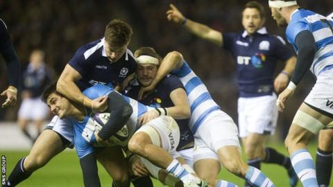 Gray sees room for improvement in the breakdown for Scotland