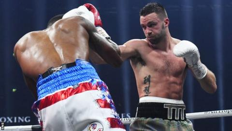 Josh Taylor overwhelmed Ryan Martin at The Hydro in November to win his quarter-final