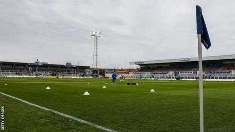 Hartlepool United's Victoria Park ground
