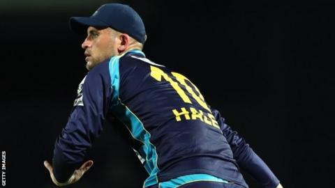 Alex Hales has been in action in the Caribbean Premier League for Barbados Tridents
