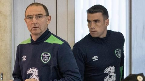 Martin O'Neill must plan for Moldova without the injured Robbie Brady