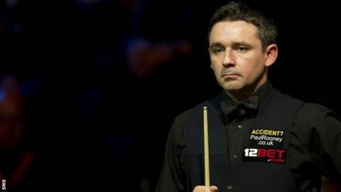 Snooker player Alan McManus