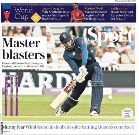 Wednesday's Telegraph