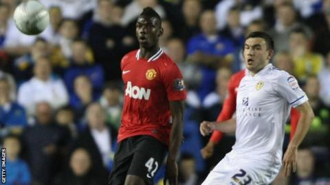 Paul Pogba featured for Manchester United the last time they played Leeds in 2011