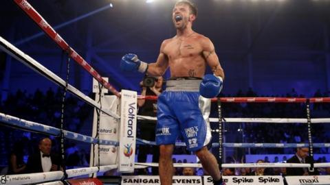 Bristol boxer Lee Haskins