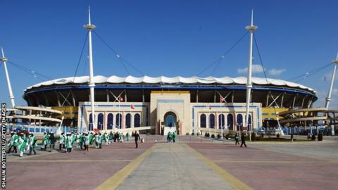 The Olympic Stadium in Rades