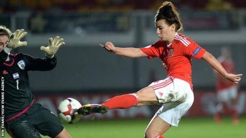 Midfielder Angharad James has won 48 caps for Wales and scored two goals