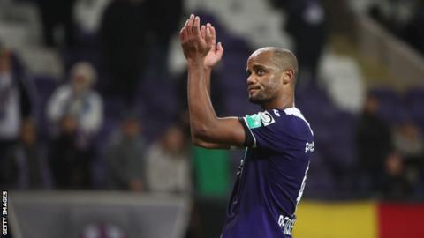 Vincent Kompany retires from playing to become Anderlecht head coach