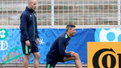 Jonathan Walters is unlike to be fit to face the Italians on Wednesday
