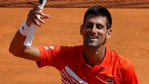 Novak Djokovic wins in Monte Carlo