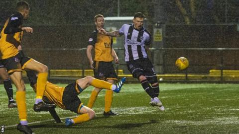Shane Sutherland has scored 23 goals this season, and 95 in total for Elgin City