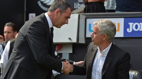 Mourinho and Clement