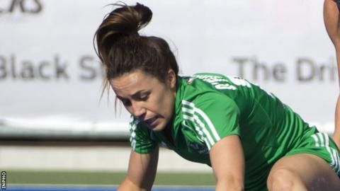 Anna O'Flanagan was on target for Ireland against Malaysia