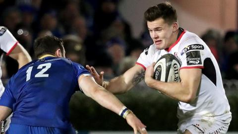 Ulster wing Jacob Stockdale will pose a major threat to Leinster on Saturday