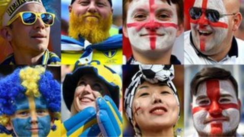 Image result for england face sweden in quarter final