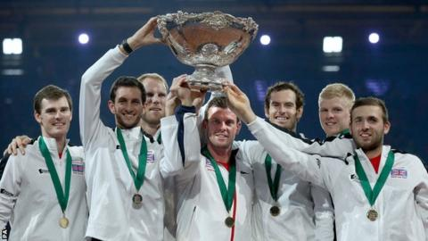 Britain beat Belgium to lift the Davis Cup
